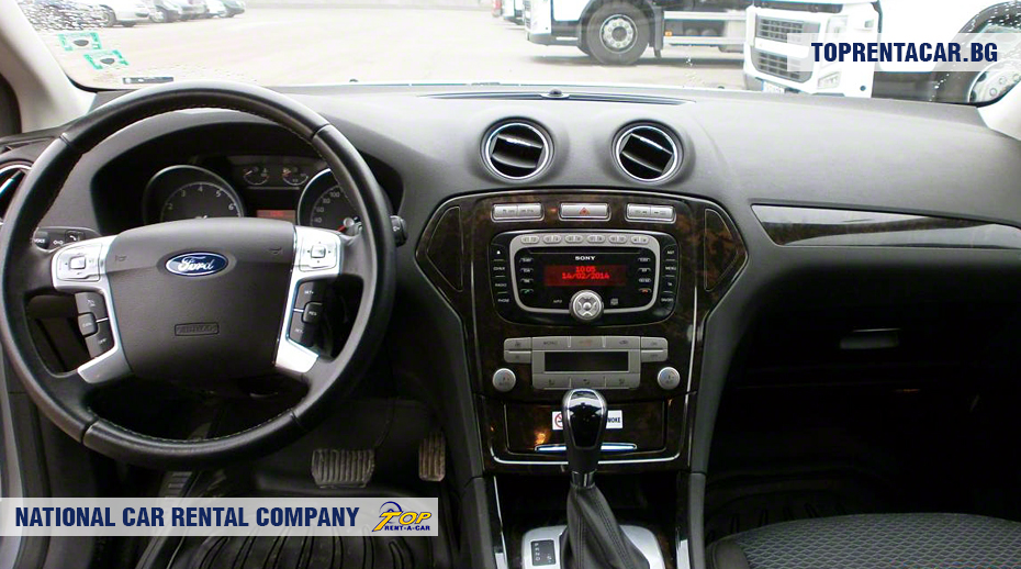 Ford Mondeo - Vista interior