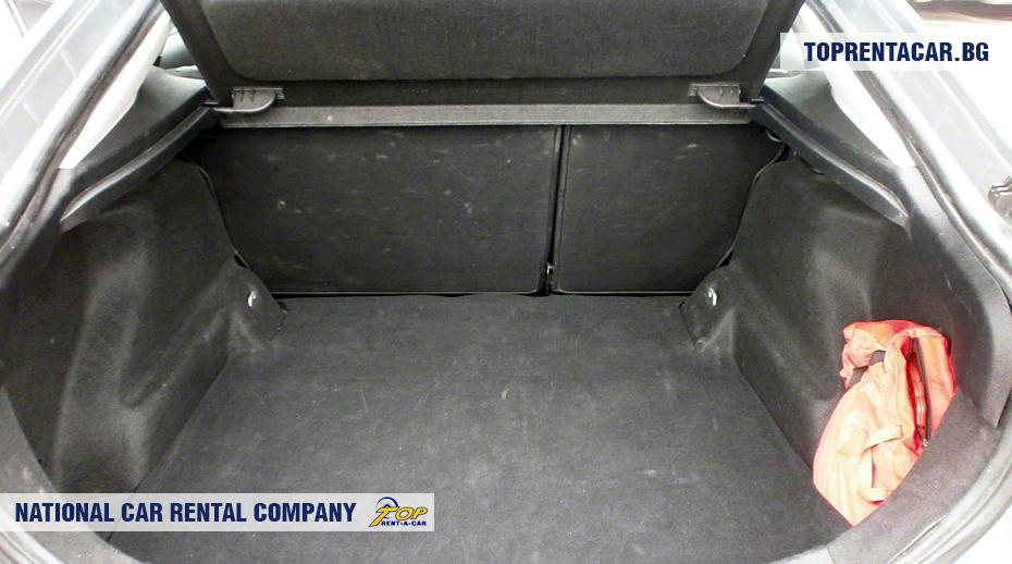 Ford Mondeo - Vista del tronco