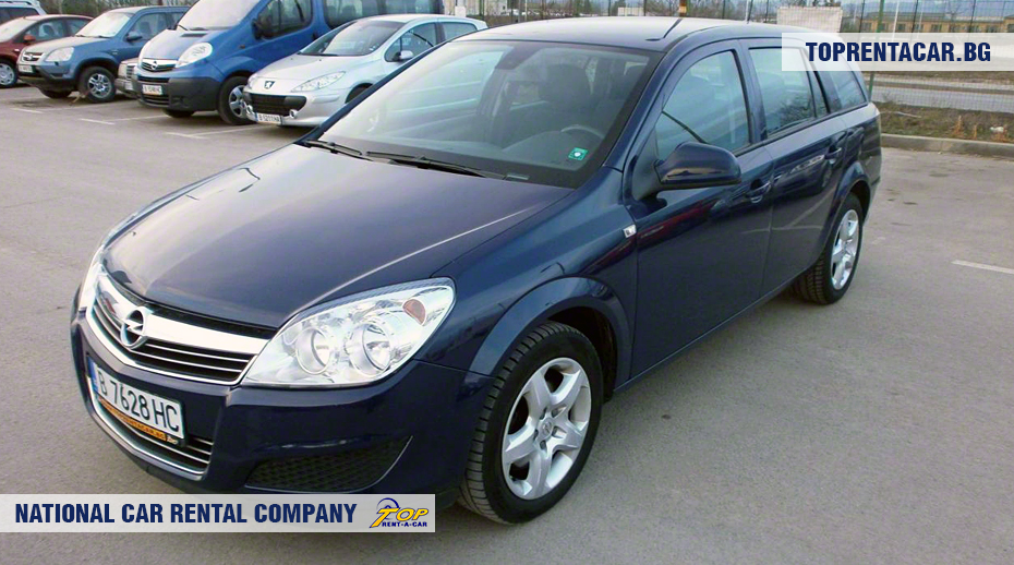 Opel Astra - Vista frontal