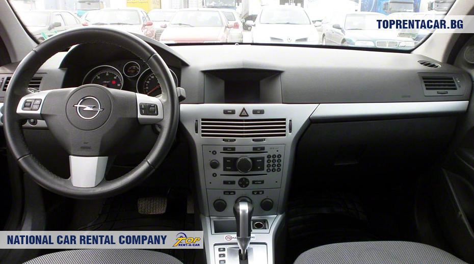 Opel Astra - Vista interior