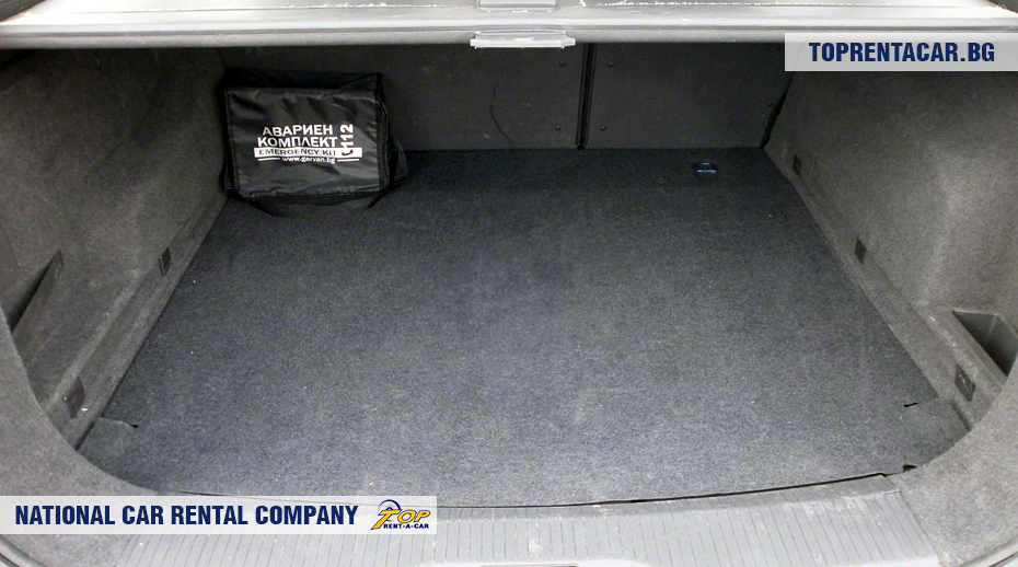 Opel Astra - Vista del tronco